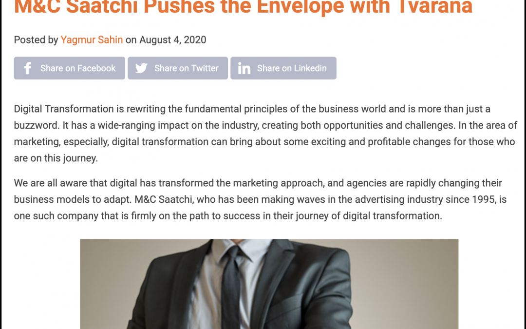 M&C Saatchi Success Story: ERP News